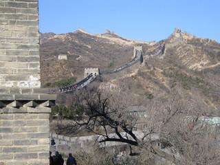 China - chinesische Mauer - China, Weltwunder, Bauwerk, Befestigungsanlage, Verteidigung, Sehenswürdigkeit