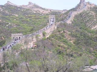 Chinesische Mauer - China, Weltwunder, Bauwerk, Befestigungsanlage, Verteidigung, Sehenswürdigkeit