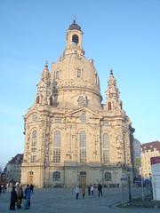 Frauenkirche Dresden - Dresden, Kirche, Frauenkirche, Sandsteinbau, Kuppelbau, Barock