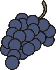 Weintraube - Traube, Trauben, Weintraube, Weintrauben, Wein, Anlaut W, Winzer, Reben, Weinstock, Obst, Früchte, Frucht, blau
