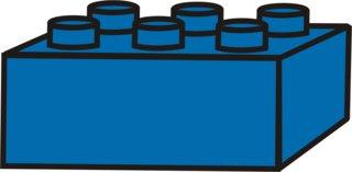 Lego - Lego, Legostein, Legosteine, bauen, spielen, Spielzeug, blau, Anlaut L