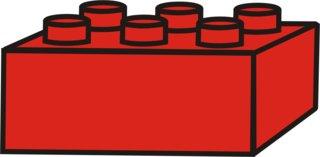 Lego - Lego, Legostein, Legosteine, bauen, spielen, Spielzeug, rot, Anlaut L