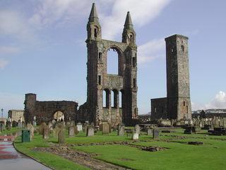 St Andrew's Cathedral - St Andrews, Cathedral, Kathedrale, Schottland, Ruine, gotisch, Kirche