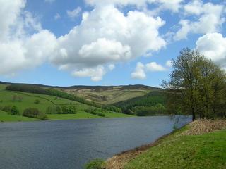 Peak District, Ladybower Reservoir - Peak District, England, Wasser, Reservoir, Landschaft, Hochlandgebiet, Naturpark