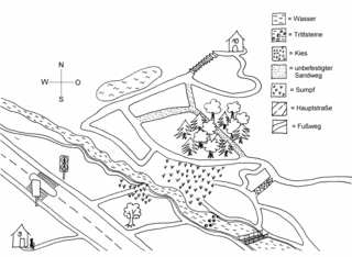 Wegbeschreibung (2) Grundschule Klasse3/4 - Wegbeschreibung, Aufsatzerziehung, Grundschule, Sprachunterricht, Wegeskizze, Wegeplan, Lageplan, Plan, Skizze, Stadtplan
