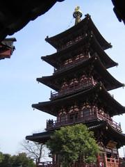 China - Suzhou: die Pagode Beisi Ta - China, Suzhou, Geschichte, Religion, Buddhismus, Baukunst
