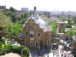 Park Güell - Barcelona, Gaudi, Güell, UNESCO-Weltkulturerbe