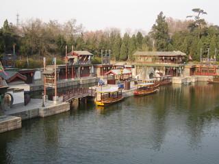 China - See im Garten des Sommerpalastes (peking)  - China, Peking, Park, Gartenanlage, Sehenswürdigkeit, Weltkulturerbe