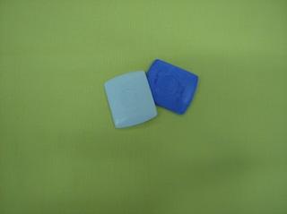 Schneiderkreide - Schneiderkreide, Kreide, bezeichnen, Stoff, markieren, übertragen, weiß, blau, Nähzubehör