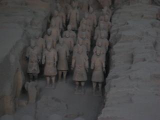 Terracotta-Armee in Xian - Terracotta-Armee, Armee, China, Xian, Geographie, Geschichte, Terrakotta, Sehenswürdigkeiten