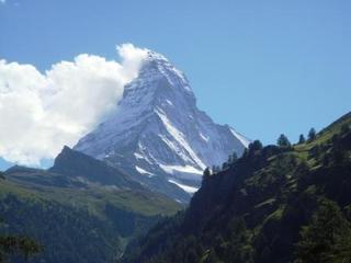 Matterhorn - Schweiz, Matterhorn, Zermatt, Zentralalpen, Berg, Gebirge, Alpen, hoch