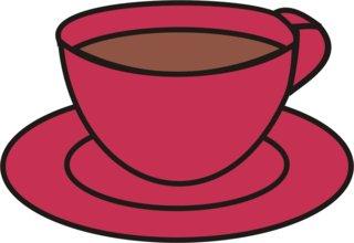 Tasse - Tasse, Teller, Kaffee, Kaffeetasse, trinken, Anlaut T, Geschirr, Wörter mit Doppelkonsonanten