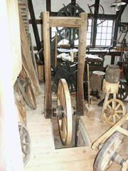 Werkstatt für Karrenräder - alt, Handwerk, Rad, Karrenrad, Holzrad, Werkstatt