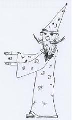 Zauberer - Zauberer, Zauberei, Magier, Elektrostatik, zaubern, Verb, Anlaut Z