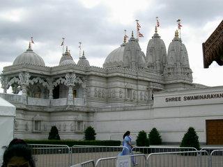 Hindu-Tempel Neasden1 - London, Hindu-Tempel, Neasden, Hinduismus