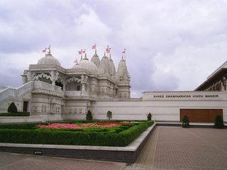 Hindu-Tempel Neasden2 - London, Hindu-Tempel, Neasden, Hinduismus