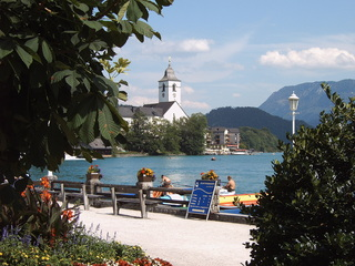 St. Wolfgang am Wolfgangsee - Österreich, Wolfgangsee, St.Wolfgang, Promenade