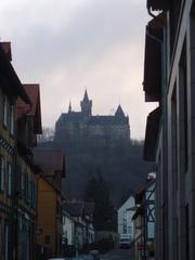 Schloss Wernigerode - Wernigerode, Schloss, Burg, Morgen, Harz, Architektur