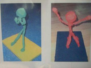 Ausdrücken von Gefühlen - Gefühle, Ausdruck, Drahtfigur, Giacometti