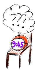 Herr Ticktack - Uhren und Tätigkeit #11 - Uhr, Zeit, Tagesablauf, Aktivität, nachdenken, Wecker, Uhrzeit