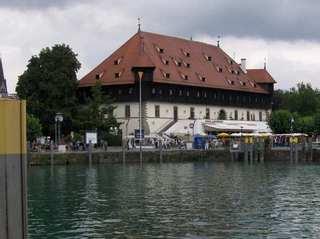 Konstanz Konzil - Konstanz, Konzil, Hafen, Hafeneinfahrt, Papst, Wahl, Bodensee, Bischofssitz, Mittelalter, Geschichte, Deutschland