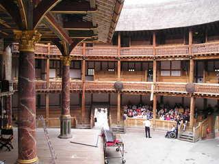 Globe - Theatre - England, Landeskunde, Shakespeare, Globe Theatre, London