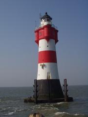 Leuchtturm Roter Sand - Leuchturm, Roter Sand, Nordsee, Außenweser, Leuchtfeuer, Markierung, Tagessichtmarke, Untiefe