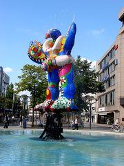 Livesaver-Brunnen Duisburg 1 - Niki de Saint Phalle, Jean Tinguely, Nana, Livesaver-Brunnen, Brunnen, Duisburg