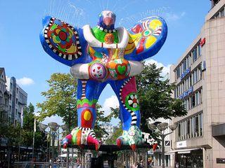 Livesaver-Brunnen Duisburg 2 - Niki de Saint Phalle, Jean Tinguely, Nana, Livesaver-Brunnen, Brunnen, Duisburg