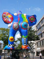 Livesaver-Brunnen Duisburg 3 - Niki de Saint Phalle, Jean Tinguely, Nana, Livesaver-Brunnen, Brunnen, Duisburg