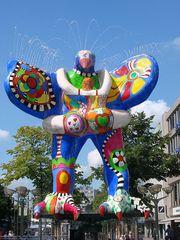 Livesaver-Brunnen Duisburg 4 - Niki de Saint Phalle, Jean Tinguely, Nana, Livesaver-Brunnen, Brunnen, Duisburg