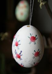 bemaltes Osterei - Ostern, Schmuck, Ei, Fest, Brauchtum