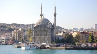 Mecidiye-Moschee - Türkei, Istanbul, Osmanisches Reich, Konstantinopel, Moschee, Barock, Bosporus, Minarett
