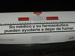Warnhinweis auf Zigarettenschachtel #1 - Zigaretten, rauchen, gefährlich, Warnung, Hinweis, Gesundheit, salud, fumar