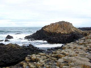 Giant´s Causeway 2 - Irland, Schottland, Küste, Meer, Giants Causeway, Basalt, Säule, Basaltsäule, alt, gigantisch