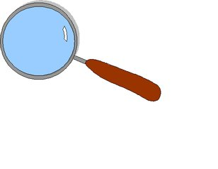 Lupe - Lupe, Anlaut L, vergrößern, Vergrößerung, Optik, Linse, Sammellinse, Glas, Brechung, Lichtbrechung, rund, Kreis, Physik