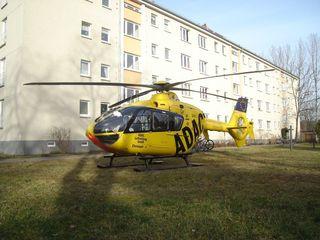 ADAC Hubschrauber Christoph#1 - Hubschrauber, Rettung, Rettungseinsatz, Lebensrettung, Luftrettung, fliegen, Helikopter, Rotor, Auftrieb, Physik, Aerodynamik
