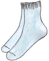 Socken - Strümpfe - chaussettes, Socken, socks, Strümpfe, clothes, Kleidung, vêtements, Fußbekleidung, kurz, knöchellang, Bündchen, Söckchen, Paar, zwei, Anlaut S