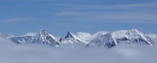 Eiger, Mönch, Jungfrau - Geografie, Alpen, Schweiz, Eiger, Mönch, Jungfrau, Berg, Gebirge, Gipfel