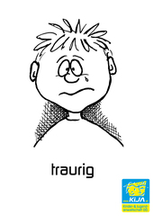 Gefühle #17 - Gefühl, Gefühlsausdruck, Gesichtsausdruck, Emotion, Empfindung, Stimmung, Gespür, empfinden, Gemütsbewegung, traurig, bedrückt, bekümmert, schwermütig, weinend, trauernd, niedergeschlagen sein, melancholisch, Melancholie, trübsinnig, grämen, Düsternis, Trübsinn, Wehmut, Verzweiflung, Gram, Kummer, untröstlich, trist, unglücklich, leidend, betroffen, unfroh, den Blues haben, alles schwarz sehen, Trübsal blasen, deprimiert, freudlos