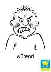 Gefühle #22 - Gefühl, Gefühlsausdruck, Gesichtsausdruck, Emotion, Empfindung, Stimmung, Gespür, empfinden, Gemütsbewegung, wütend, aufgebracht, rasend, rabiat, tobend, verärgert, zornig, Tobsuchtsanfall, wutschäumend, wutschnaubend, zürnend, zähneknirschend, grimmig, gereizt, erbost, aggressiv, heftig ärgerlich, empört, blindwütig, in Fahrt, geladen, fuchsteufelswild, fuchtig, kochend, Gefühlsexplosion