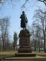 Schillerdenkmal - Literatur, Marbach, Neckar, Schiller, Baden-Württemberg, Dichter, Klassik, Sturm und Drang