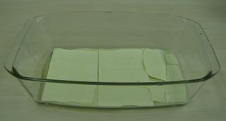 Lasagne #1 - Lasagne, Auflauf, Auflaufform, einschichten, Bechamelsoße, Lasagneplatten, Nudelplatten, Auflaufform