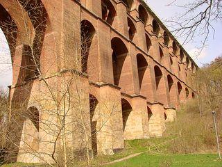 Göltzschtalbrücke 3 - Detail, Brücke, Göltzschtalbrücke, Göltzsch, Sachsen, Vogtland, Bahn, Linie, Zug, Ziegel, hoch