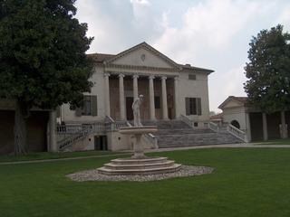 Villa Badoer von Palladio - Italien, Italienisch, Landeskunde, Architektur, Palladio, Villa, Venezianisch, Villa Veneta, Villa Badoer, Veneto, Rovigo, Palladianismus