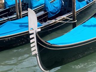 Gondel, Bugbeschlag, Ferro - Italien, Landeskunde, Venedig, Gondel, gondola, Bugbeschlag, ferro, Bug