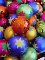 Weihnachtsbaumschmuck - Deko, Weihnachtsdeko, Weihnachten, Brauchtum, Advent, Kugeln, Weihnachtsbaumschmuck, Christbaumschmuck, Baumschmuck, bunt