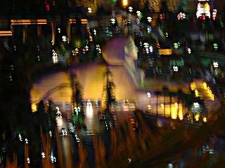 Las Vegas bei Nacht - Stadt, Licht, Las Vegas, Amerika