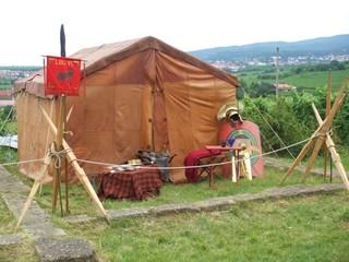 Römerkohorte  - Rom, Römer, Zelt, Römerkohorte