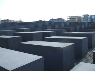 Holocaust Mahnmal - Juden, Berlin, Architektur, Mahnmal, Holocaust, Quader, Steinblock, Denkmal, Judenvernichtung, Nationalsozialismus, Brandenburger Tor
